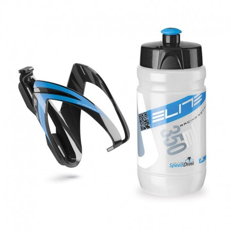 KIT ELITE CEO NEGRO AZUL BIDON