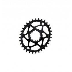 Plato Ovalado Absolute BLACK SRAM DIRECT MOUNT