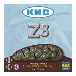 CADENA K.M.C. Z 8 INDEX 7/8 V MARRON