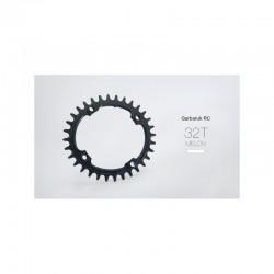 Garbaruk Monoplato Oval 104bcd Negro