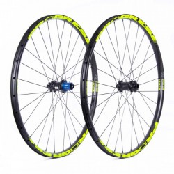 Ruedas Progress JGO XCD-CB Plus 27.5 9/15x100 Y 12x142 Shimano Amarillo
