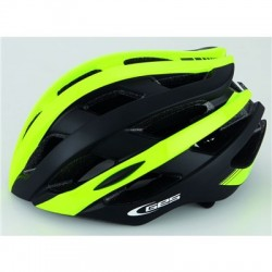 CASCO GES ICON-12 ROAD MTB AMARILLO/NEGRO TALLA M (54-58)
