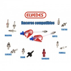 Elvedes Kit Sangrado Freno Mineral / DOT